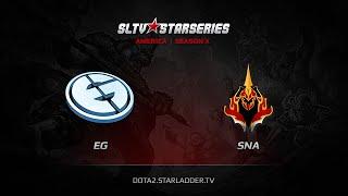 Evil Genuises vs SNA, game 1