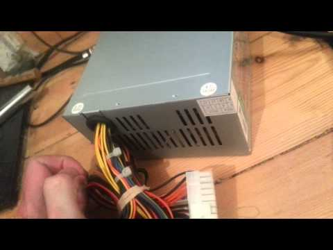 Power Amiga 1200/500 with ATX psu