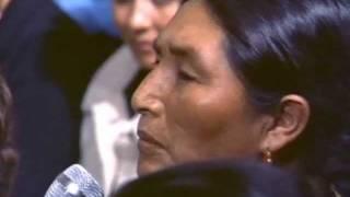 Diálogo con una mujer quechua