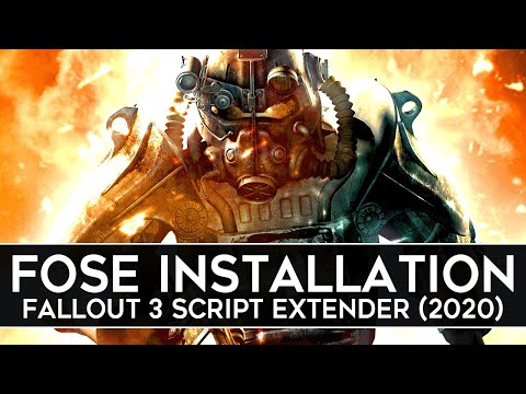 How to Install FOSE for Fallout 3 (2020) - Script Extender v1.3b2