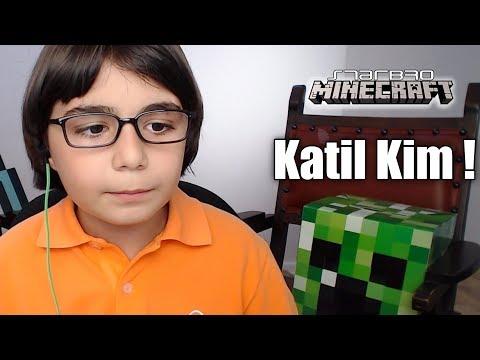 KATİL OLDUM ! KATİL KİM - Minecraft Murder #12