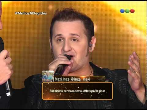 """Matías Albertengo canta """"Have you ever seen the rain?"""" – Elegidos"""