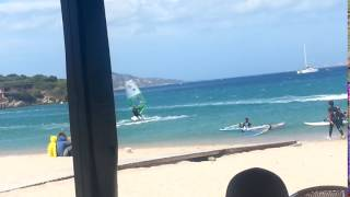 Porto-Pollo France  City pictures : Porto Pollo Sardegna - maestrale 60Knots windsurf part01 2016-07-14