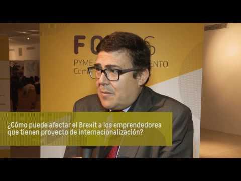 Entrevista a Rafael Escamilla, Jefe del Área de Programas Europeos y Competitividad de IVACE[;;;][;;;]