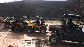 7. Breaking in the new 2016 Yamaha Wolverine R Spec SXS