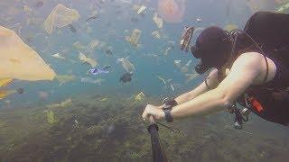 Chciał pokazać piękno Oceanu, to na co się natknął jest SZOKUJĄCE!