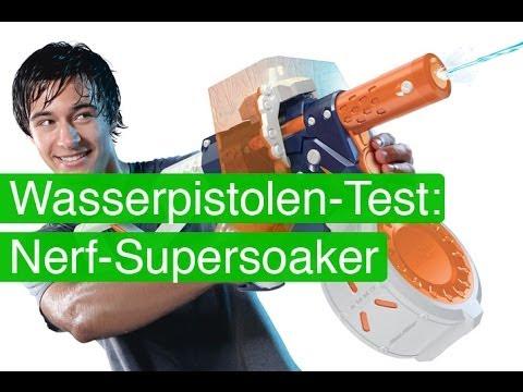 Nerf Supersoaker / Wasserpistolen im Test / SpieLama-Spezial