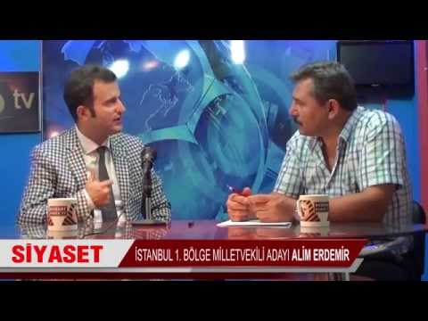 Alim Erdemir İstanbul AK Parti Milletvekili adayı