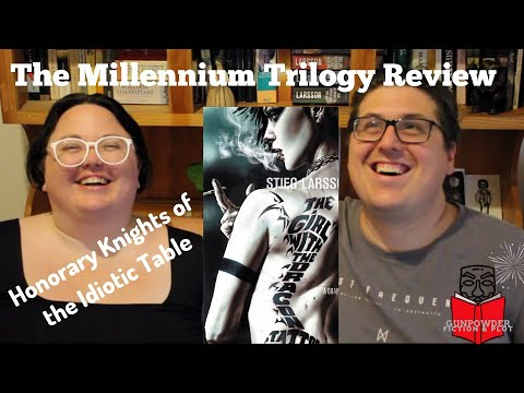 MILLENNIUM TRILOGY, Review of the first 3 books by Stieg Larsson