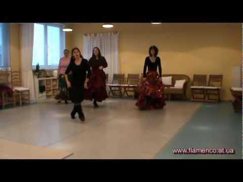Танец русских цыган. Мастер-класс Нелли Сюпюр в Германии.