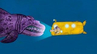 FIGHTING MASSIVE SEA MONSTERS! (We need to go deeper)