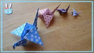 Origami : La grue