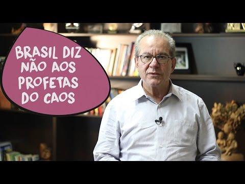 José Aníbal: Brasil diz não aos profetas do caos