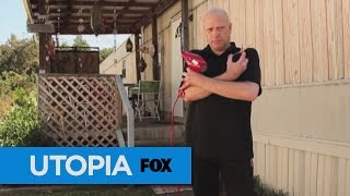 THE OUTSIDE -- Our hometown interview with Utopia's newest hairdresser/drag queen retroactively answers the question on everyone's mind: What's he packing? Now you know.Tune in TONIGHT at 8/7c, or catch full episodes over at FOX NOW.Subscribe now for more Utopia clips: http://utopia.ly/SubscribeUtopiaWatch Full Episodes of Utopia: http://smarturl.it/utopiatvSee more of Utopia on our official site: http://utopia.ly/UtopiaTV Like Utopia on Facebook: http://utopia.ly/Utopia_FBFollow Utopia on Twitter: http://utopia.ly/Utopia_TwitterFollow us on Instagram: http://utopia.ly/Utopia_IGUTOPIA brings together 15 people who have left their old lives for one year to attempt to build a new society from the ground up. There's no prize. There's no specific goal. What  matters here are the conversations Utopians will have, the work they'll accomplish, and the way they'll make their new home whatever they want it to be. This is reality TV in its purest form.Newtopian James: The Origin Story  UTOPIAhttps://www.youtube.com/utopiatvusa