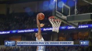 UNC blows big lead, but holds on to beat Wake Forest, 93-87