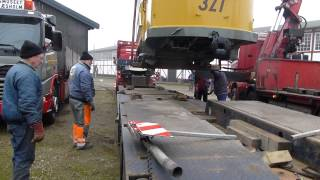 Efter endt restaurering i Gera kom KS 327 retur til musset onsdag den 21. november 2012. Film og video af Per Tingman Møller...