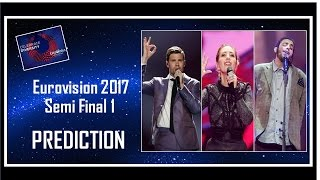Video PREDICTION | Eurovision 2017 Semi Final 1 | Top 18 | With Comments MP3, 3GP, MP4, WEBM, AVI, FLV Juni 2017