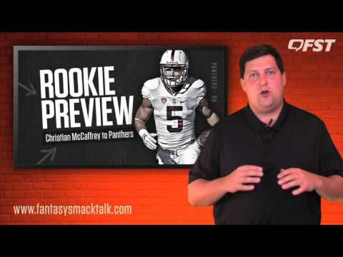 Christian McCaffrey Rookie Preview – 2017 Fantasy Football thumbnail