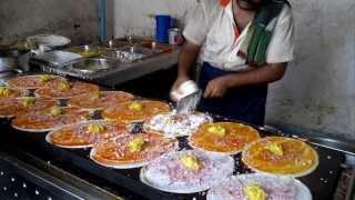 Video Dosa King - 14 Dosas in 5 Minutes : How to make Dosa ?  Indian street food MP3, 3GP, MP4, WEBM, AVI, FLV November 2018