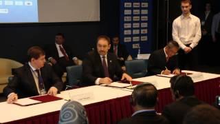 Подписание соглашения между Правительством РТ и малазийско-российским консорциумом