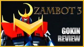 Video Gokin Review: Bandai GX-23 ZAMBOT 3 Soul of Chogokin diecast robot MP3, 3GP, MP4, WEBM, AVI, FLV Agustus 2019