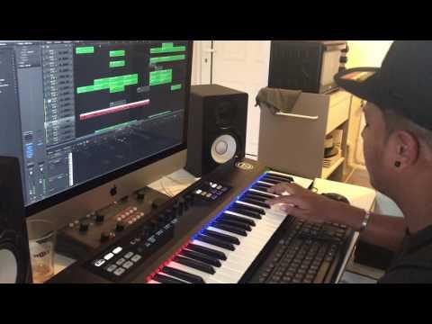 DemsRiddim Prod - SWEET Instrumental 2.0 (Freestyle Impro 2017) - Beatmaker of Reunion Island