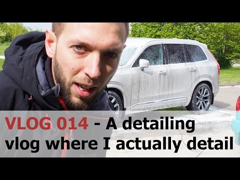 Wheels off a Volvo XC90, more travel clips and Q&A - Cambridge Autogleam Detailing VLOG 014
