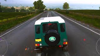 Forza Horizon 4 - Land Rover Defender 90 1997 - Open World Free Roam Gameplay (HD) [1080p60FPS]