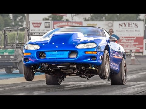 speed - The newly crowned QUICKEST 6-SPEED GM CAR IN THE WORLD - This giant turbo 1100hp stick shifted camaro officially holds the record and proves he's quite a dri...