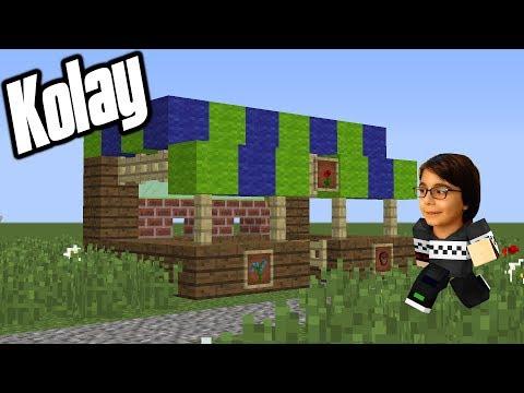 KOLAY VE MUHTEŞEM DÜKKAN YAPIMI | Minecraft: YAPI SERİSİ BKT