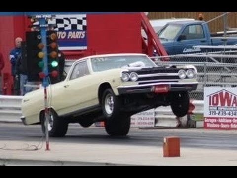 1965 El Camino puts out 1327 horses on the dyno