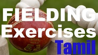 CRICKET: Exercises to Improve Fielding Part I in Tamil