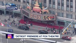 Detroit premieres at Fox Theatre