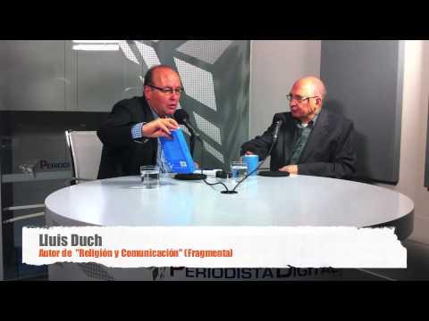 Lluís Duch habla de 'Religión y Comunicación'