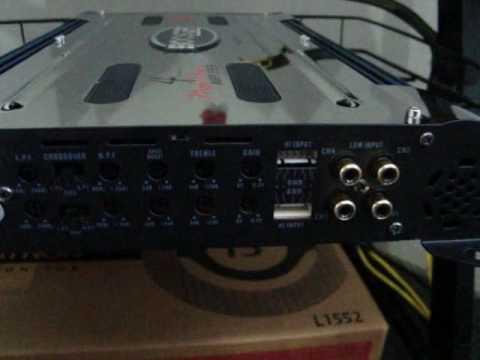 Como instalar Amplificador e regular Crossover