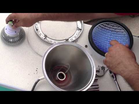 How To Install an LED Pool Light Bulb