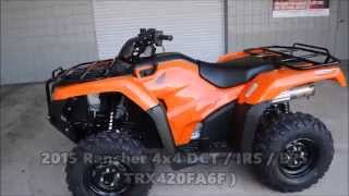 8. 2015 Honda Rancher 420 / IRS ATV Models For Sale - Independent Rear Suspension