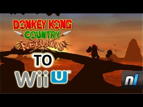 donkey kong country wii update