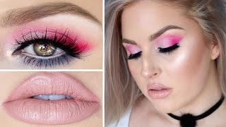 Beauty Killer Tutorial ♡ Colorful Hot Pink, Lilac & Teal Eyes! by Shaaanxo