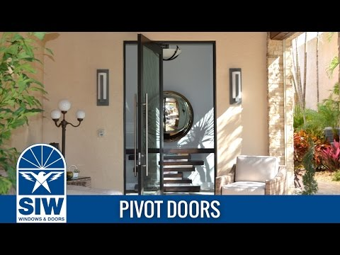 SIW Pivot Doors & See our Videos // SIW Impact Windows \u0026 Doors // Hurricane Windows ...