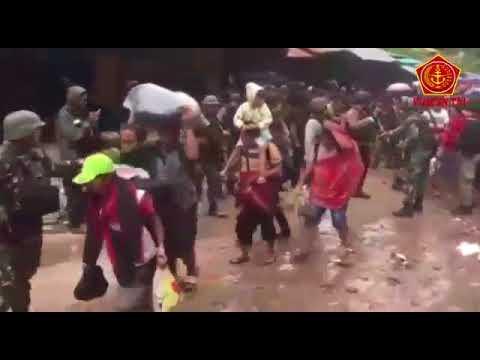 Satgas Terpadu TNI Polri Melaksanakan Operasi Pembebasan Sandera di Timika Papua