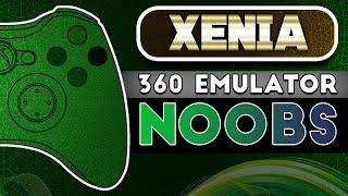 Xenia   Xbox 360 Emulator   NOOB Friendly!