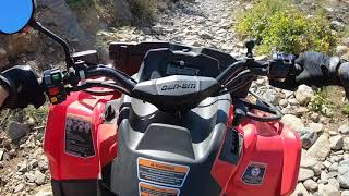 1. Can Am Outlander Max 450