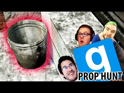 THE BUCKET MANEUVER  GMod Prop Hunt Funny Moments