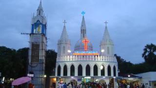 Vailankanni India  City pictures : Shrine Basilica of Our Lady of Good Health of Velankanni (Vailankanni)