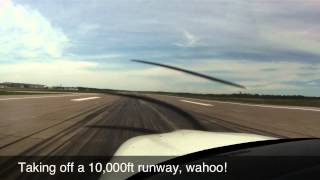 First Flight As Cirrus Pilot