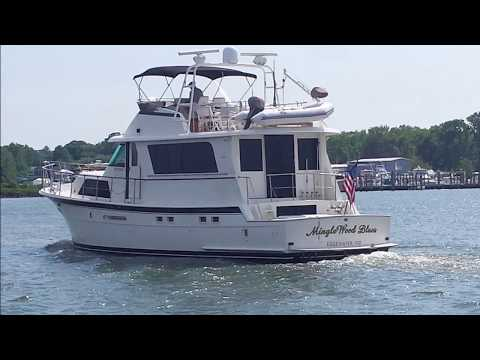 Hatteras Motor Yacht 58video
