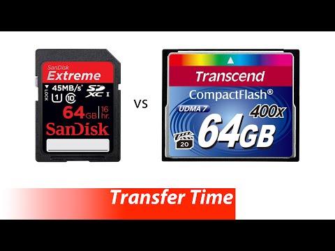 какая карта памяти лучше сандиск либо трансенд