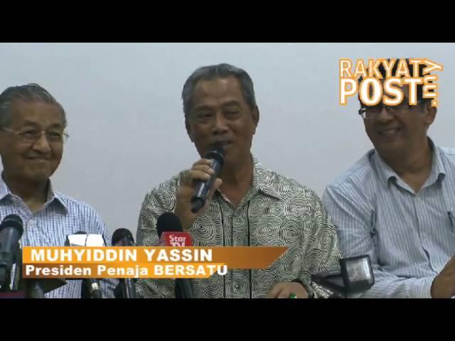 Muhyiddin cabar Najib tanding kerusi Pagoh