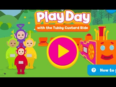 Teletubbies Play Day CBeebies is the home of fun and educational games for kids to Play (видео)